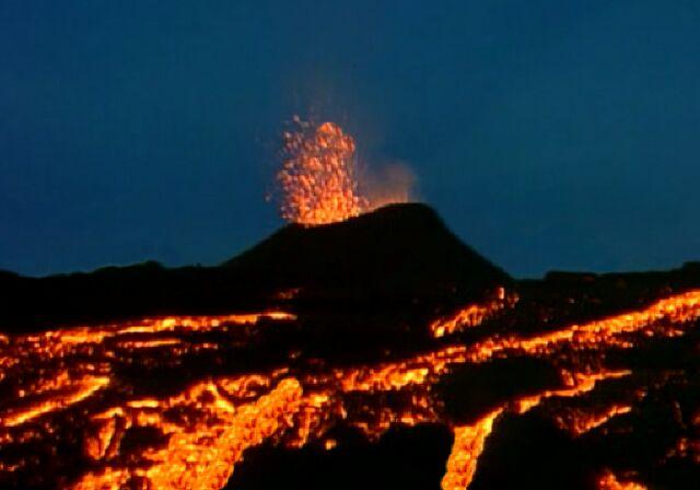 Reunion Piton De La Fournaise Passage En Alerte 1 Eruption