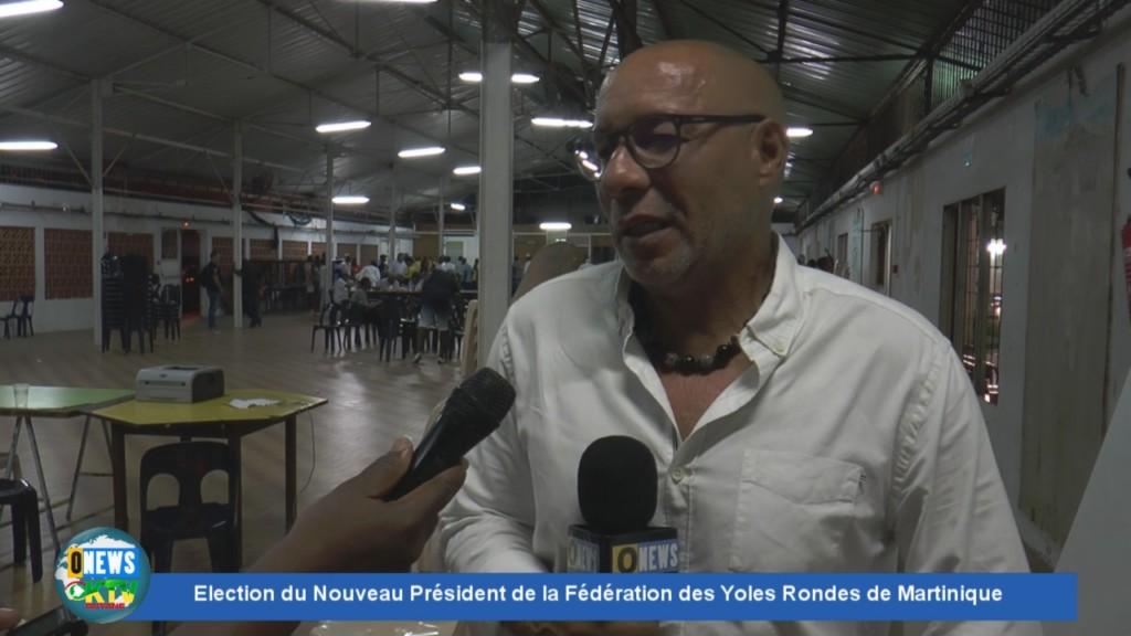 [Vidéo] Martinique Election du nouveau Président des Yoles Rondes Alain RICHARD