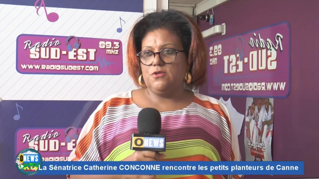[Vidéo] MARTINIQUE. La sénatrice Catherine CONCONNNE rencontre les planteurs de canne