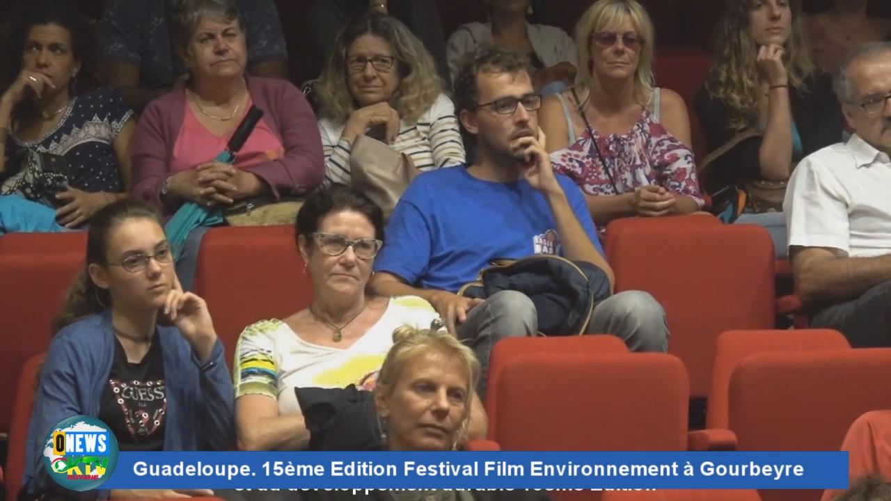 [Vidéo] GUADELOUPE 15ème Edition du Festival Film Environnement à Gourbeyre
