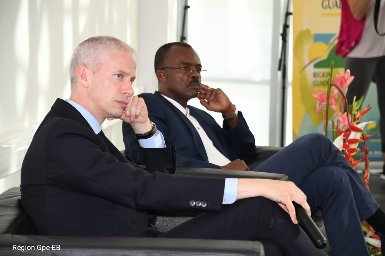 GUADELOUPE. Le ministre de la culture, Franck Riester confirme l'accompagnement de projets culturels majeurs
