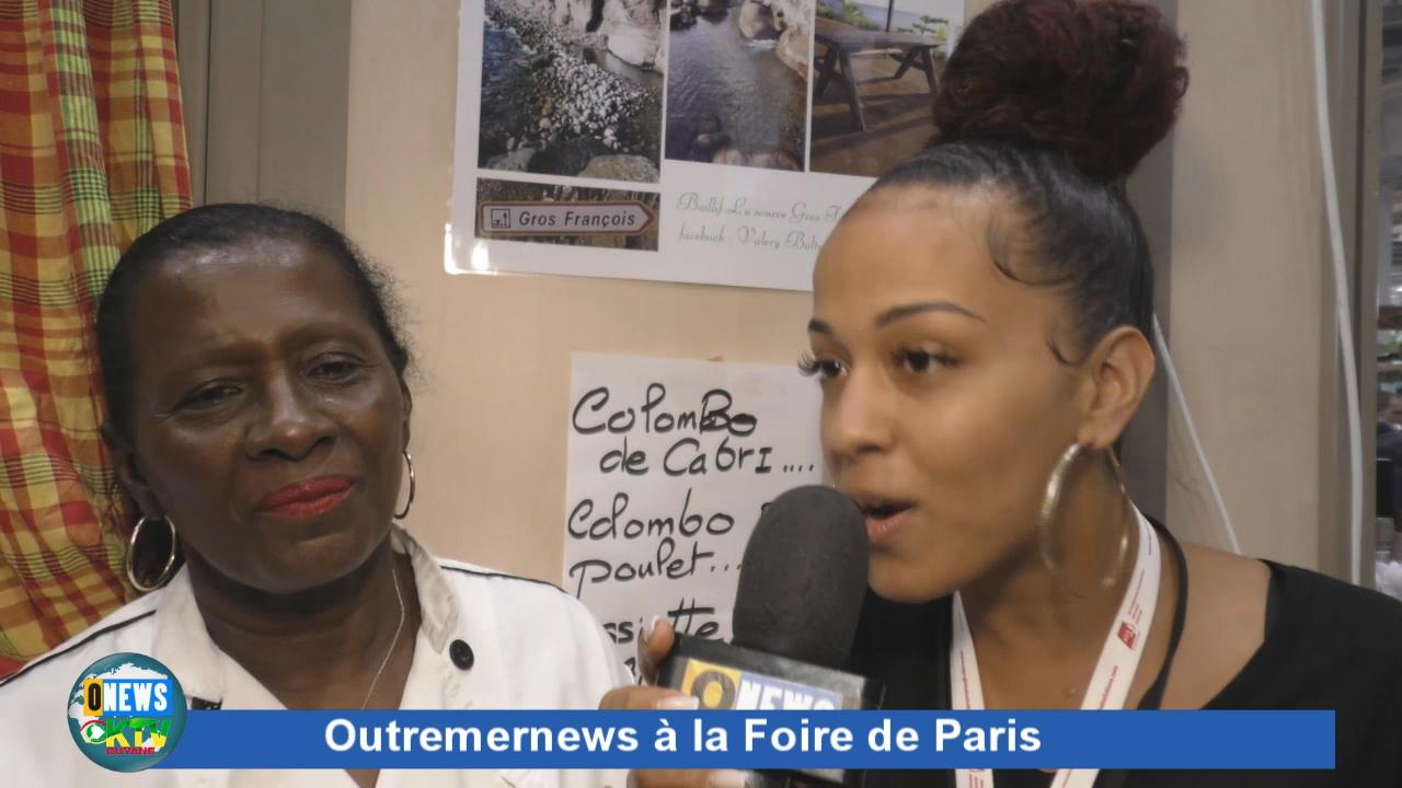 [Vidéo] Karu Nougat et le Restaurant les Cocotiers à la Foire de Paris