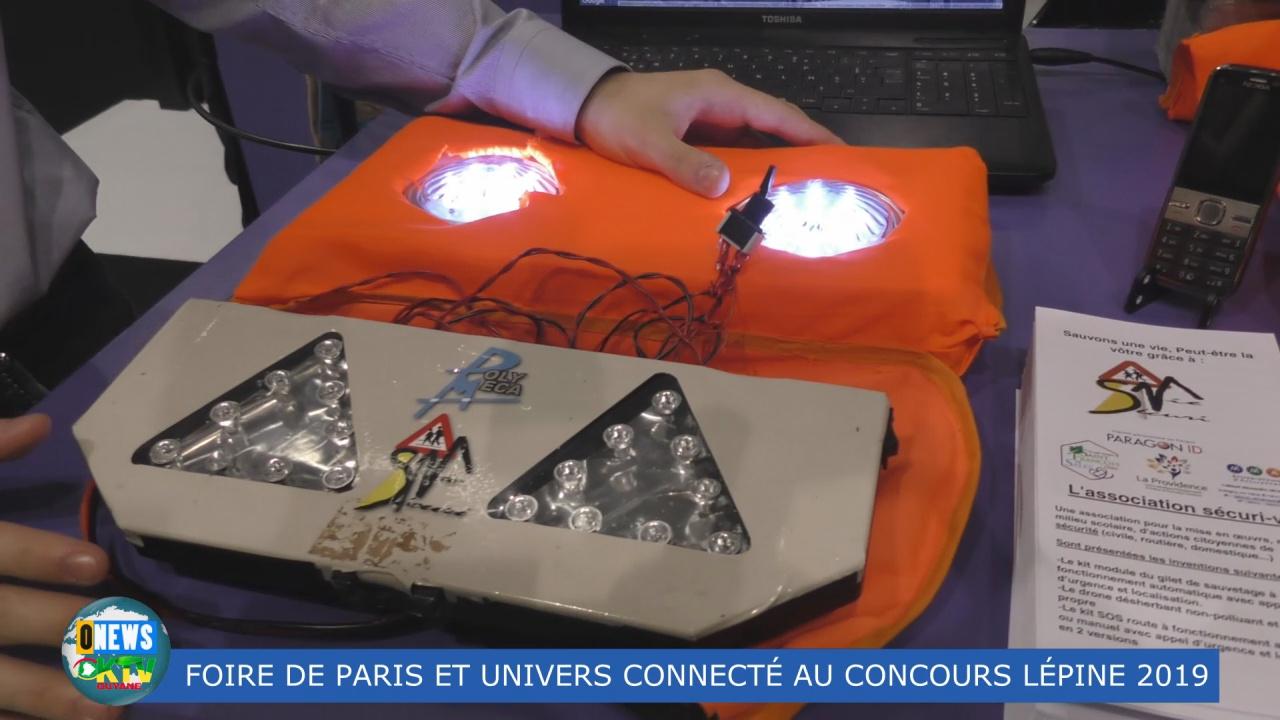 [Vidéo] HEXAGONE. Foire de Paris Concours Lépine