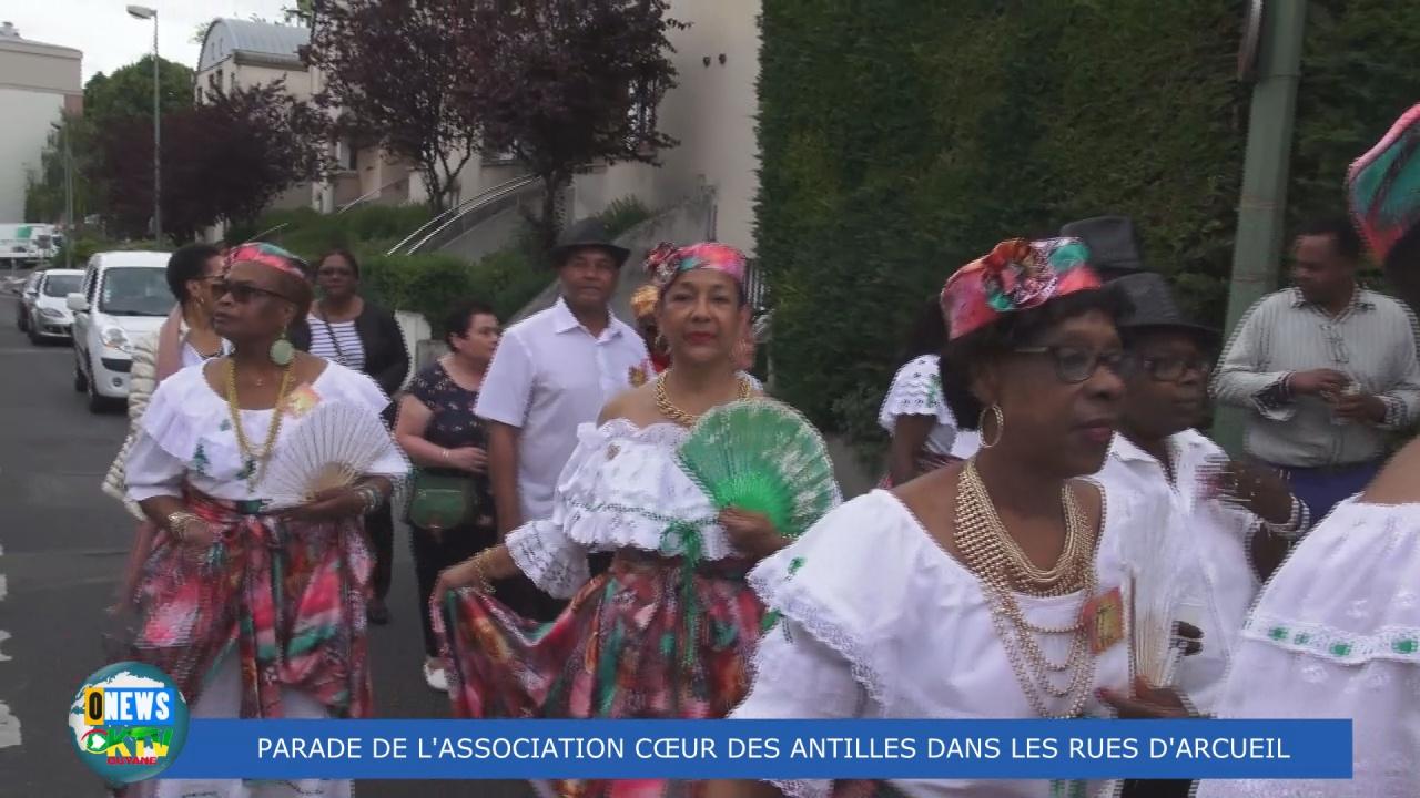 [Vidéo] HEXAGONE. Parade de L Association Coeur des Antilles à Arceuil samedi 18 Mai
