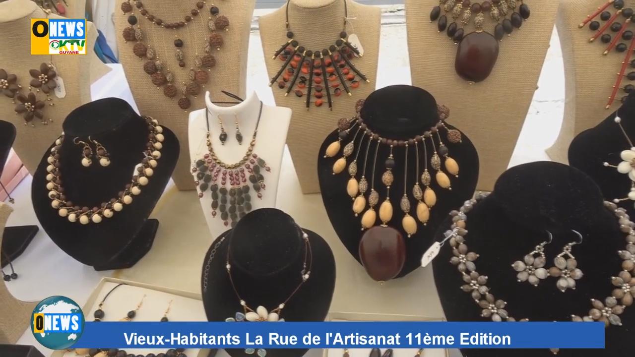 [Vidéo] GUADELOUPE. 11ème édition rue de l Artisanat