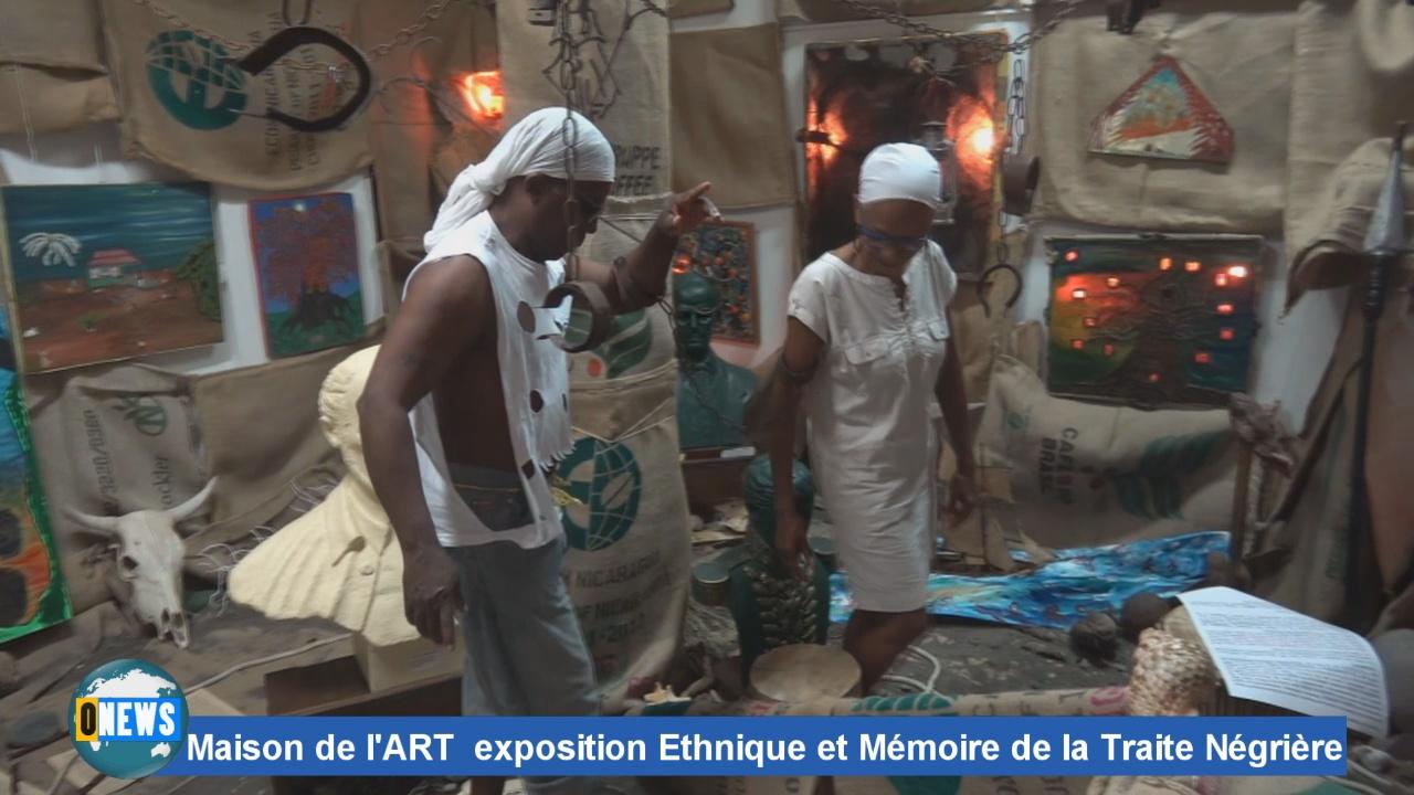 [Vidéo] GUADELOUPE.Maison de l'art exposition Laurence BRUDEY