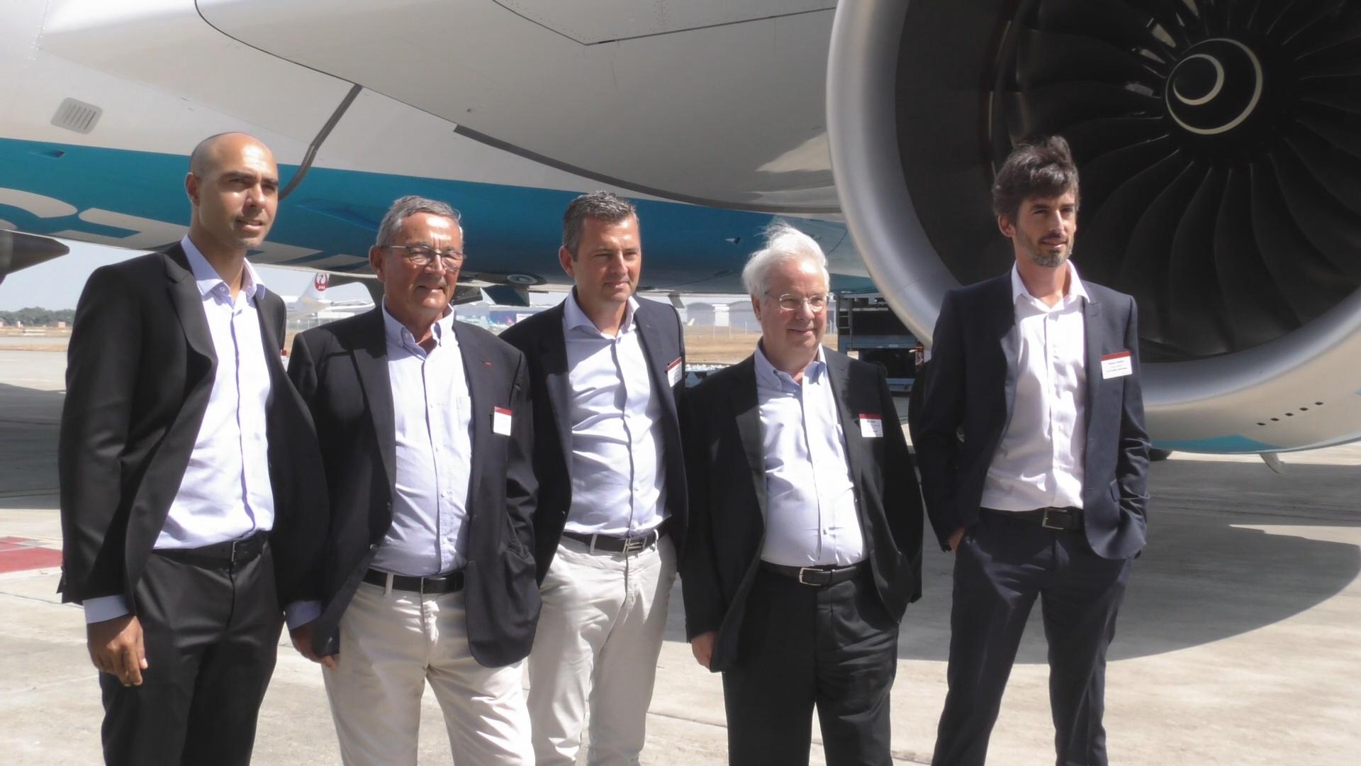 [Vidéo]. HEXAGONE. Air Caraïbes Réceptionne à Toulouse son nouvel Airbus A350 900