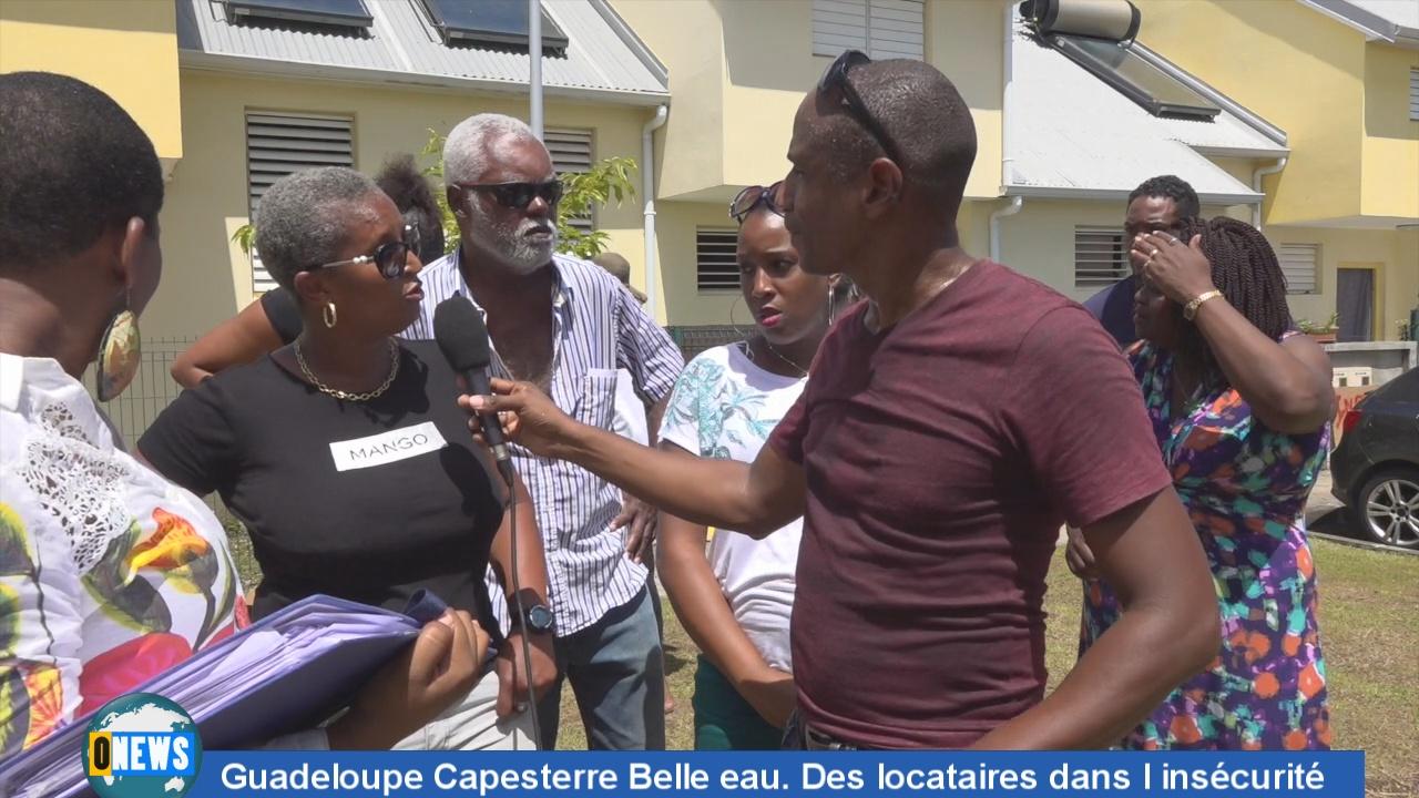 [Vidéo] Guadeloupe. A Capesterre des locataires dans l insécurité