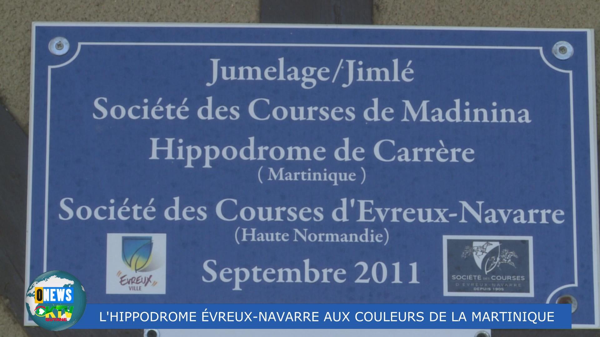 [Vidéo] HEXAGONE. L 'Hyppodrome de Evreux-Navarre aux couleurs de la Martinique dimanche 15 septembre