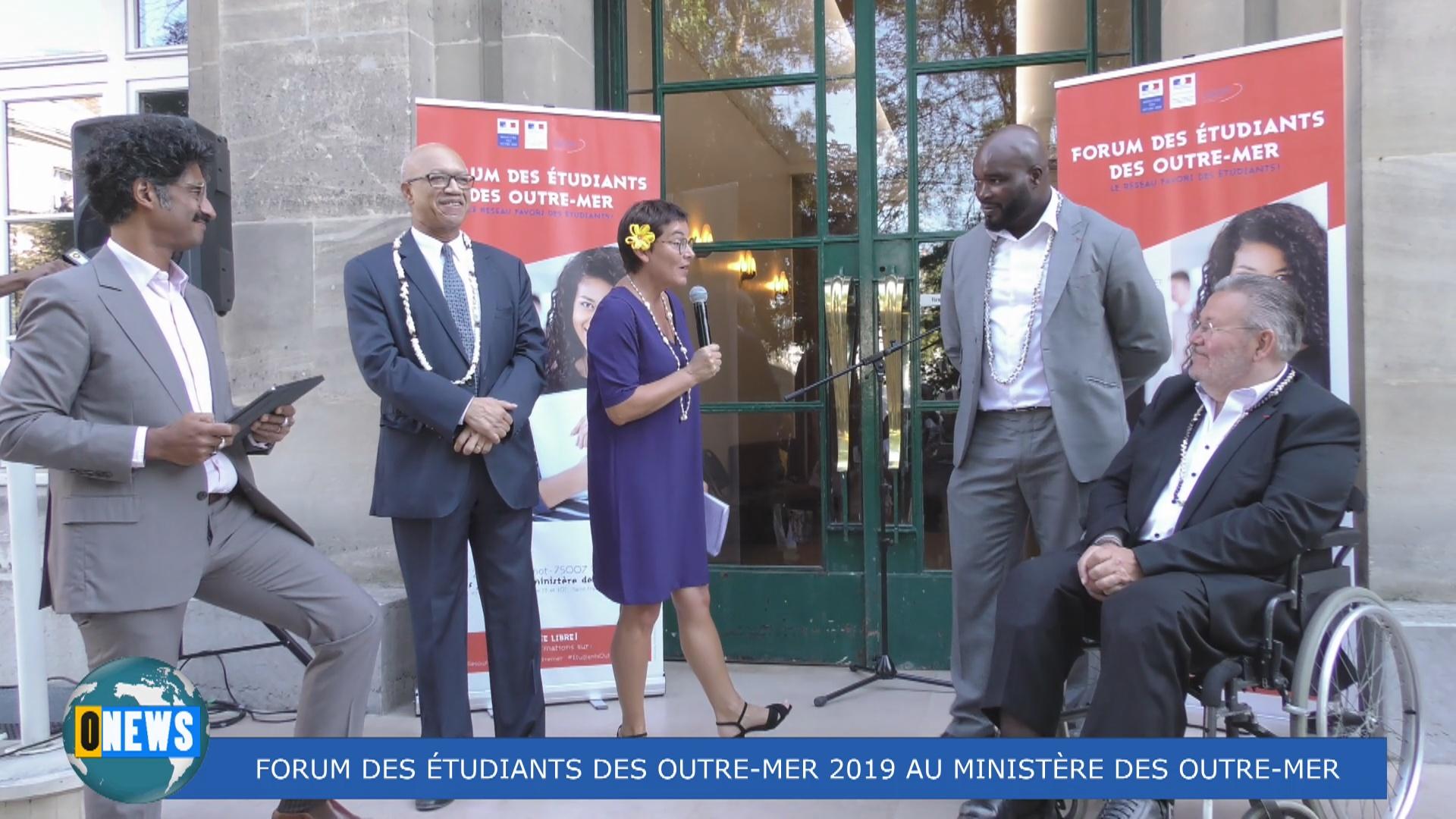 [Vidéo] HEXAGONE. Forum des étudiants des Outre mer 2019