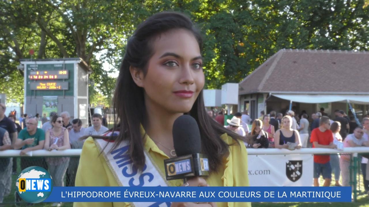 [Vidéo] HEXAGONE. L Hippodrome Evreux Navarre aux couleurs de la Martinique