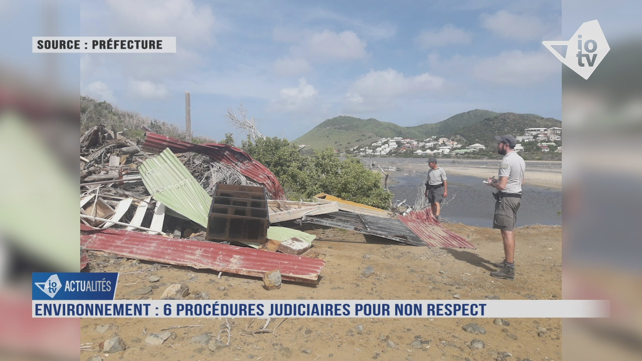 [Vidéo] Six procédures judiciaires à Saint Martin pour non respect à l Environnement.
