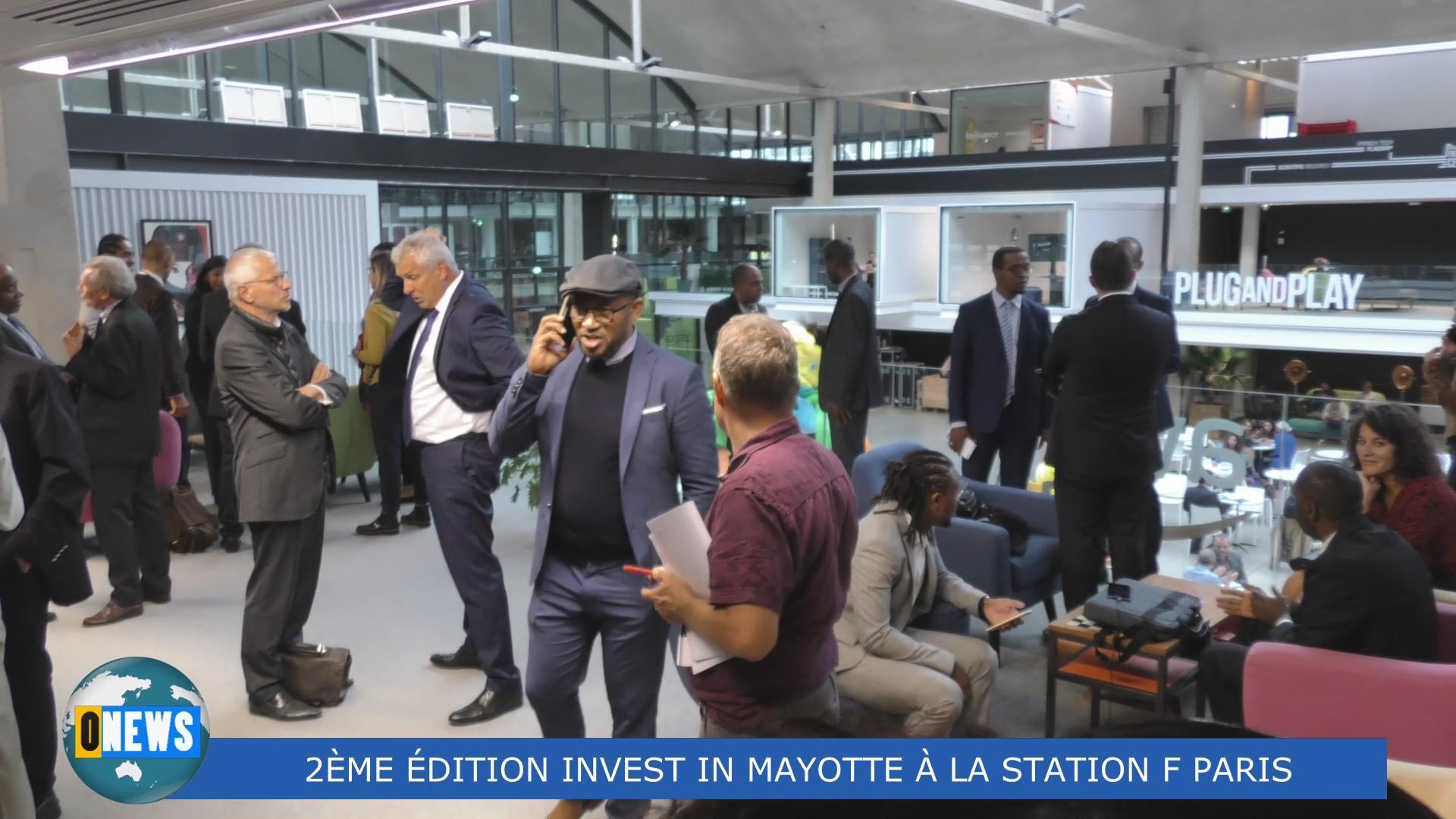 [Vidéo] HEXAGONE.  2ème édition INVEST IN MAYOTTE mercredi 25 septembre à la Station F Paris.