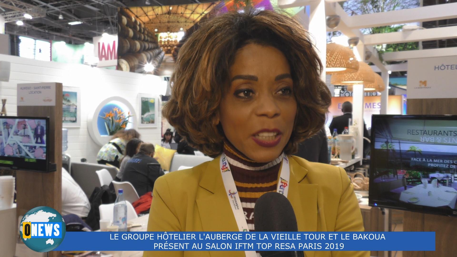 [Vidéo]HEXAGONE. Spécial Top résa. Françoise BENITO-ESPINAL Présidente du Bakoua et l Auberge de la Vieille Tour