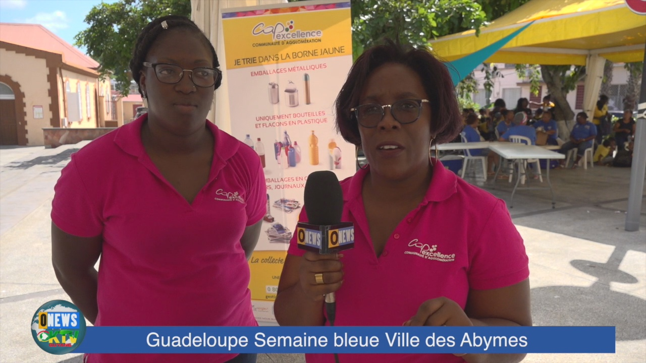 [Vidéo] Outremernews Guadeloupe. Semaine bleue aux Abymes.