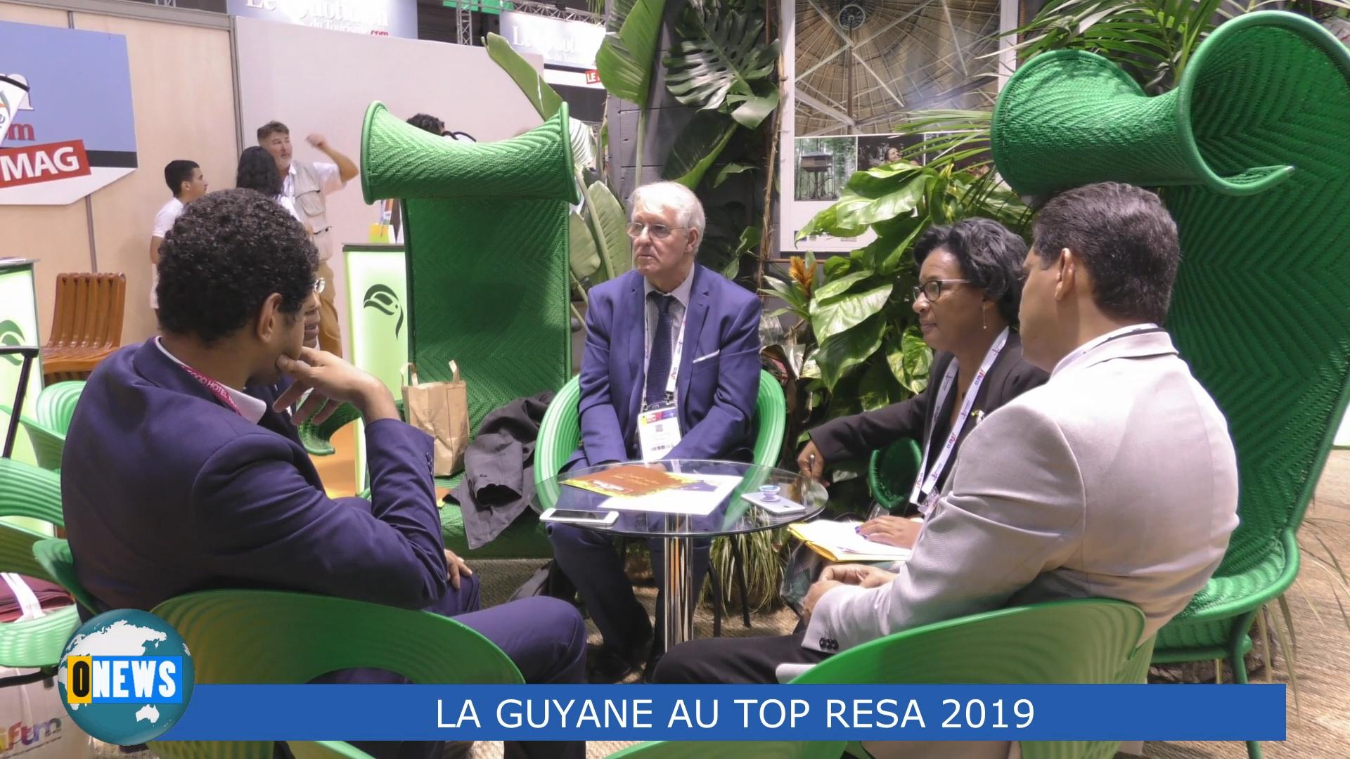 [Vidéo] HEXAGONE. La Guyane au Salon Top resa 2019. Interview de Alex MADELEINE Président du Comité du Tourisme de Guyane