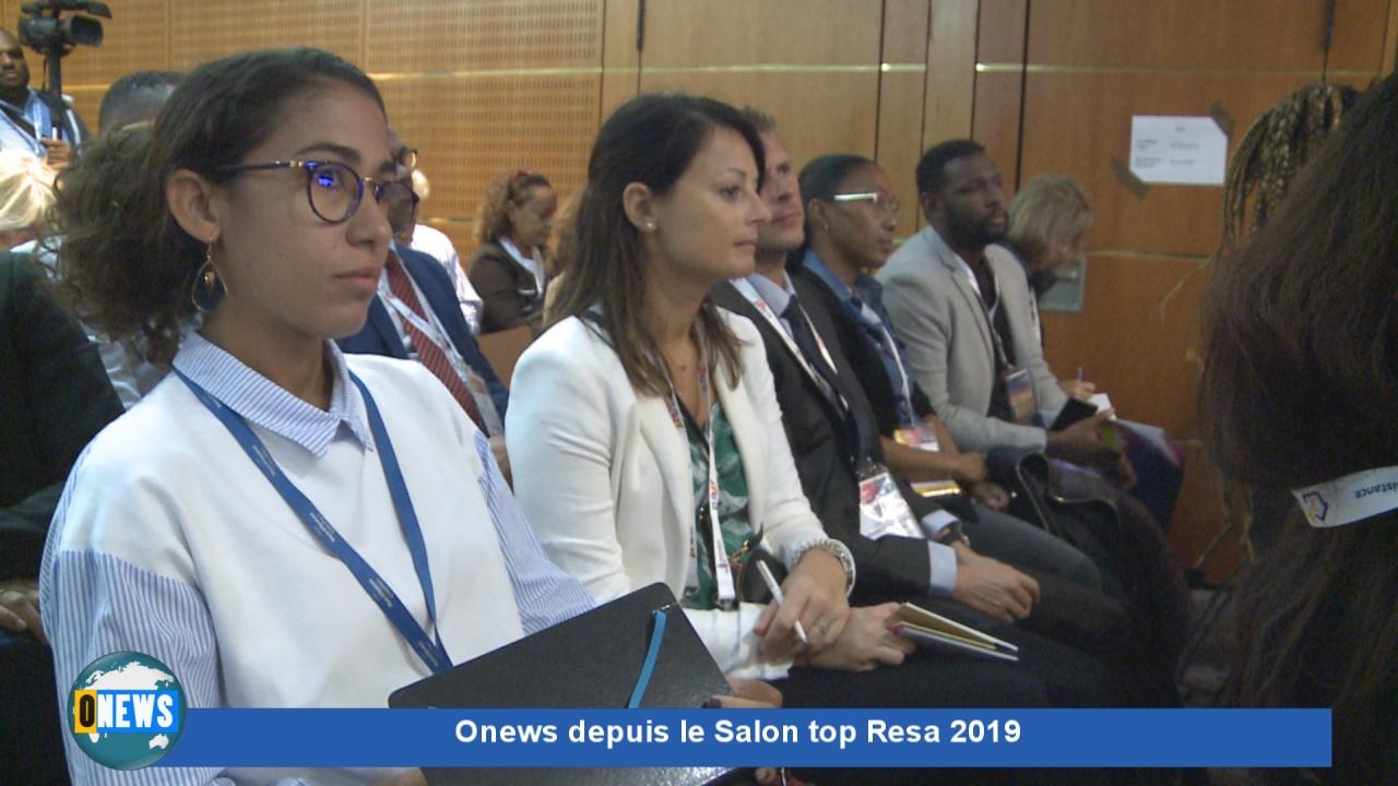 [Vidéo]HEXAGONE. Onews depuis le salon Top resa. Interview de Ary CHALUS Président de la Région Guadeloupe.