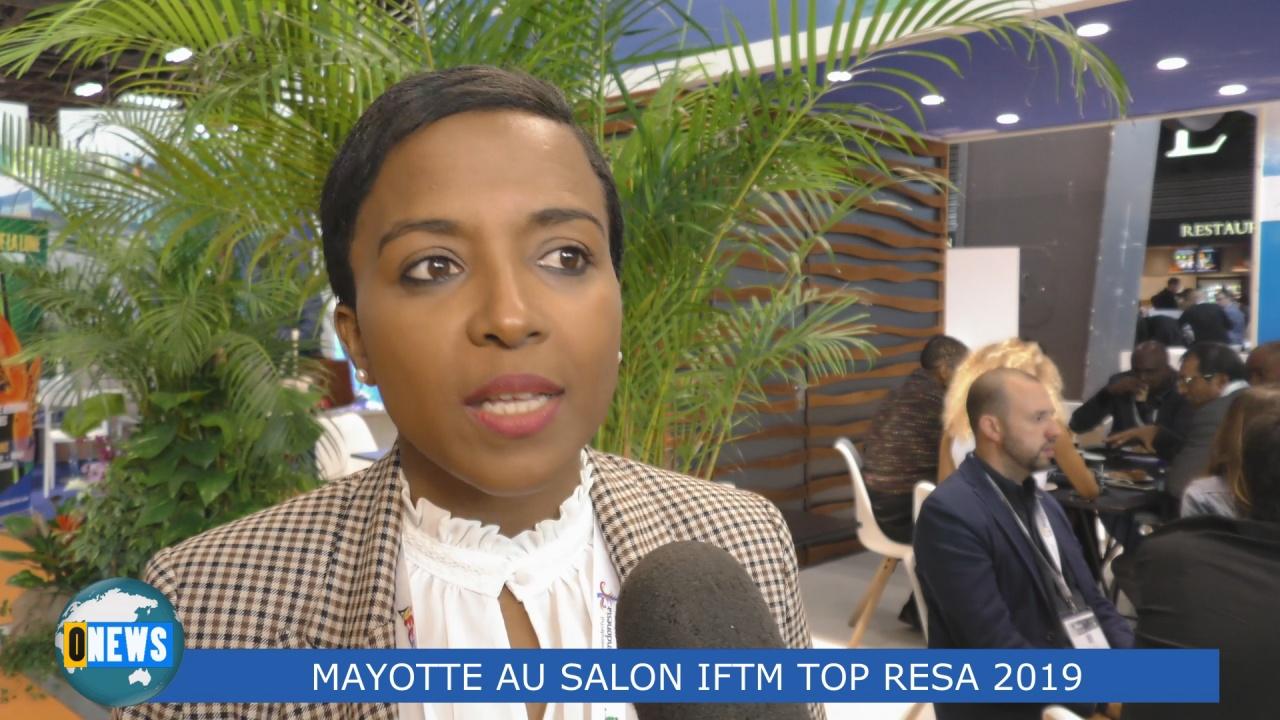 [Vidéo] HEXAGONE. Onews depuis le stand de Mayotte au salon Top resa
