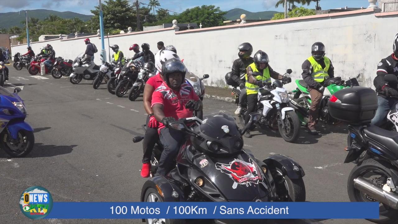 [Vidéo] Onews Guadeloupe. Opération 100 Motos – 100km – Sans accident.