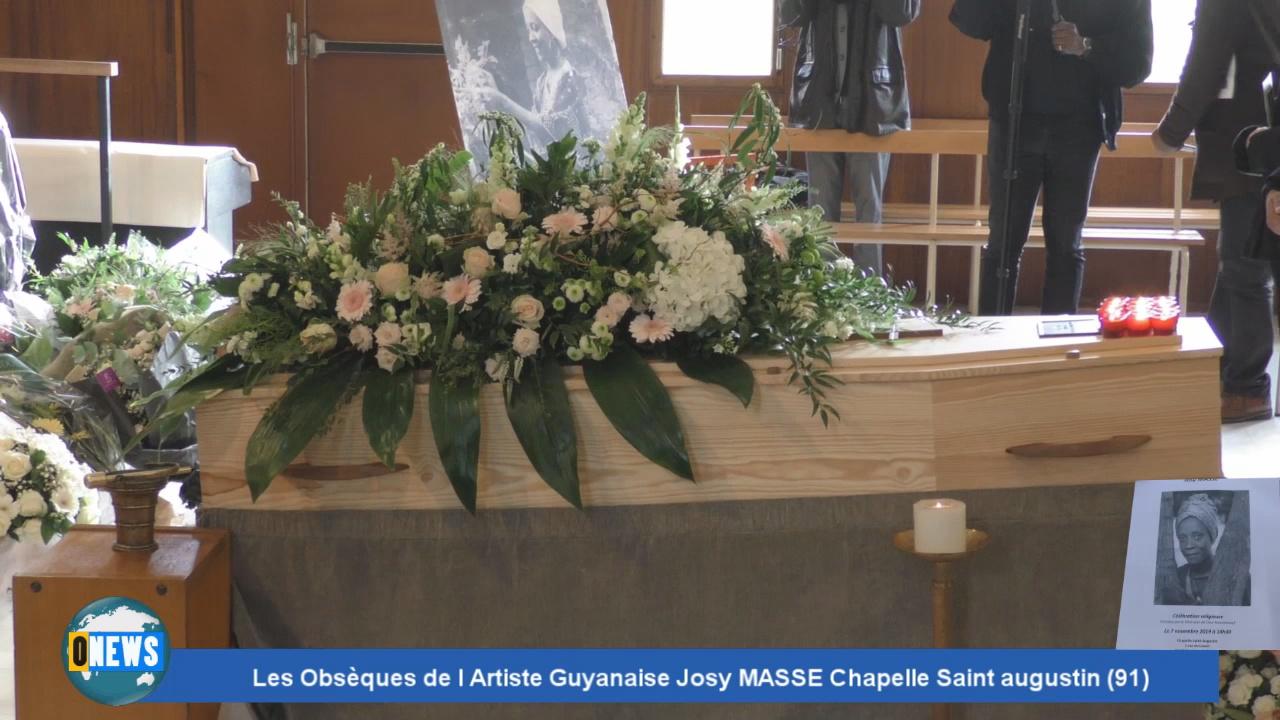 [Vidéo] Reportage 26 mn sur les obsèques de Josy MASSE Grande Artiste Guyanaise.