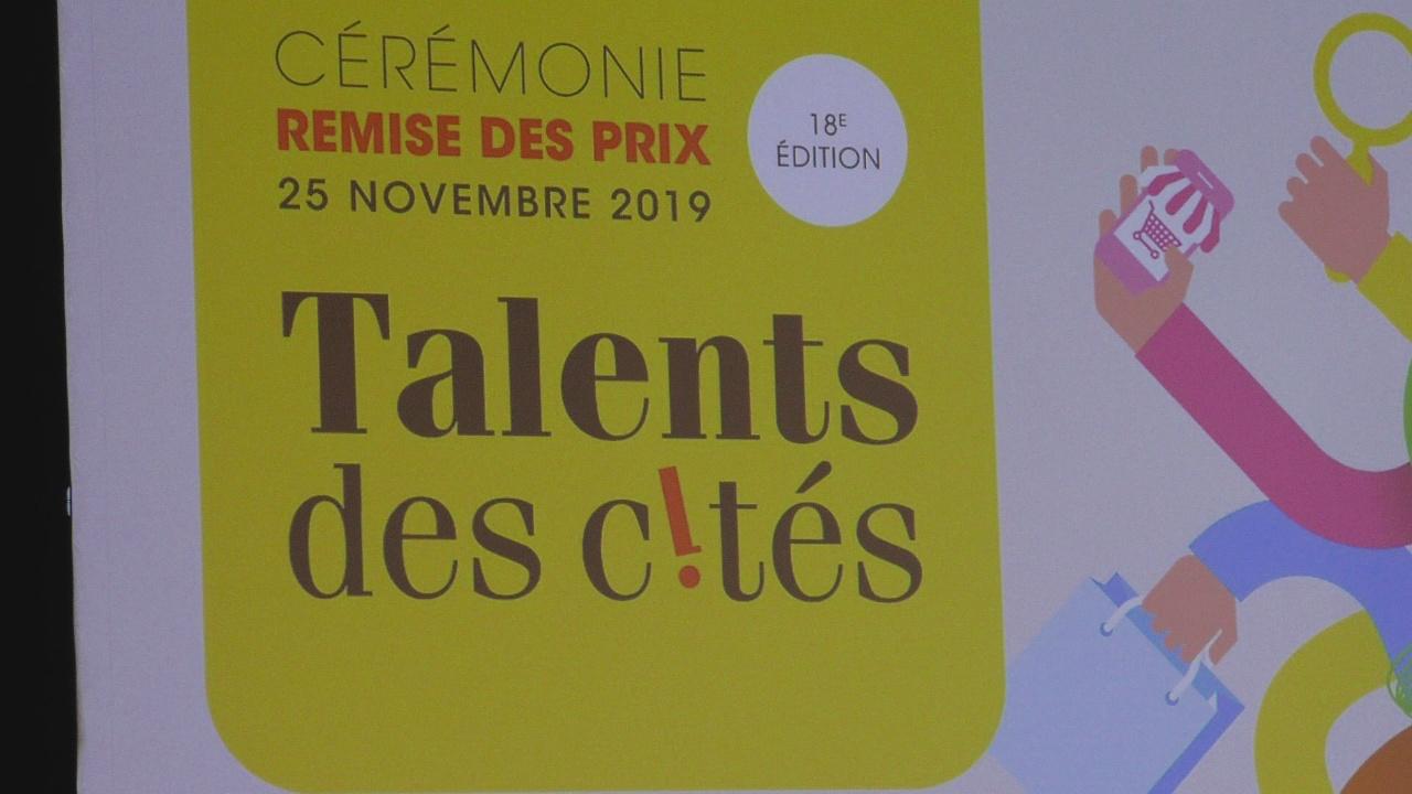 [Vidéo] ONEWS Paris.Cérémonie Remise des Prix Talents des Cités 2019.