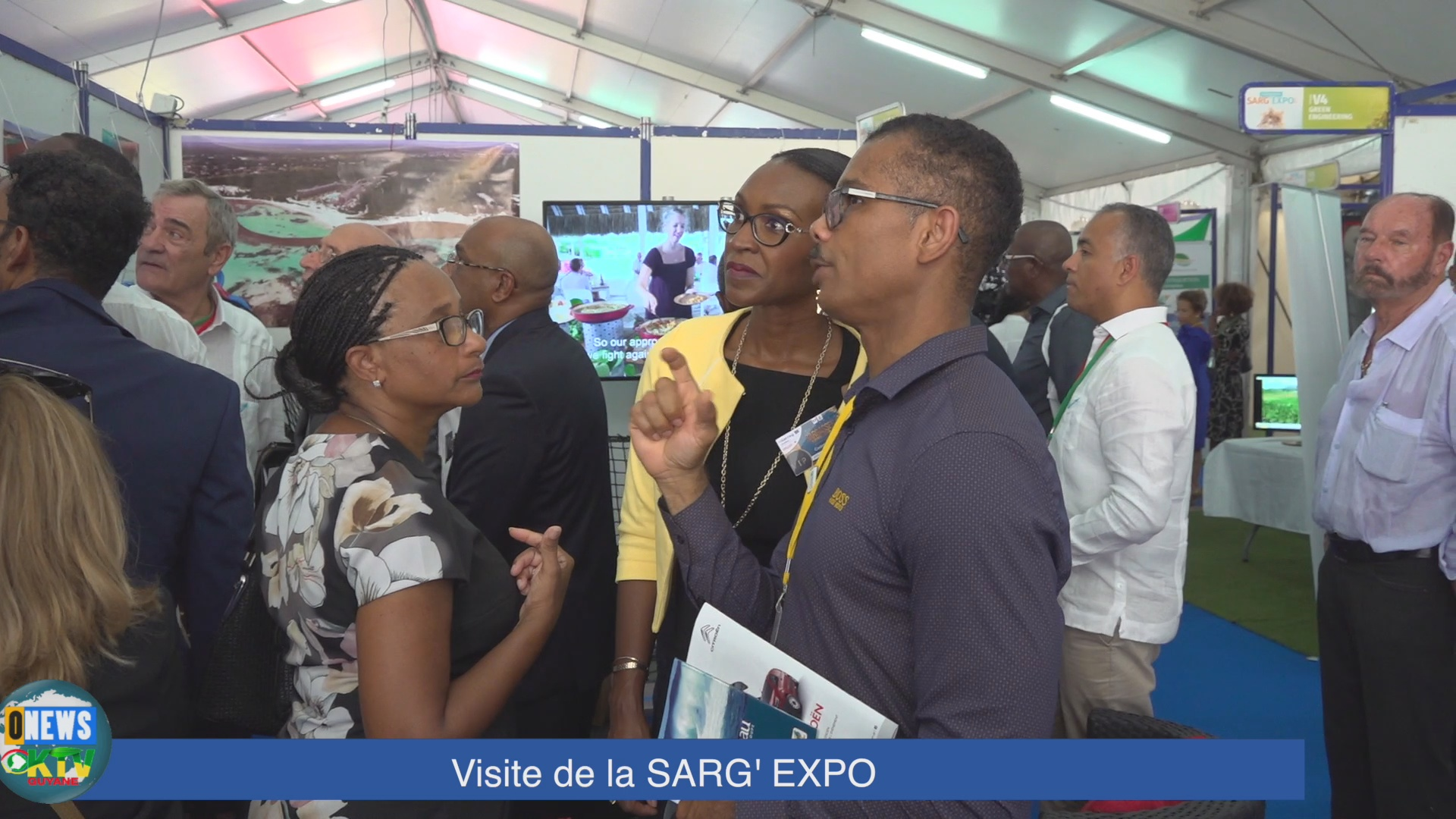 [Vidéo] ONEWS Guadeloupe. Le Salon Sarg-Expo