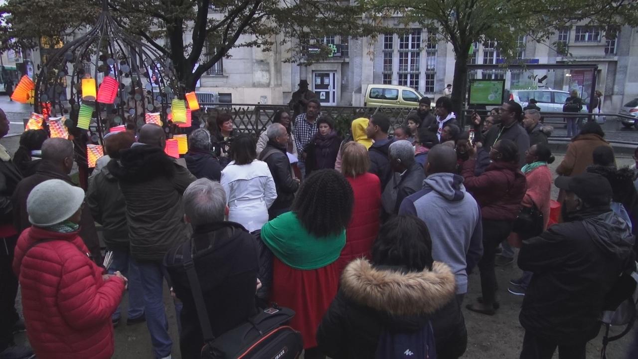 [Vidéo] HEXAGONE. Festival Mois Kréyol organisé par Difé kako Hommage aux Victimes de l'Esclavage avec le Groupe Wapa de Guyane