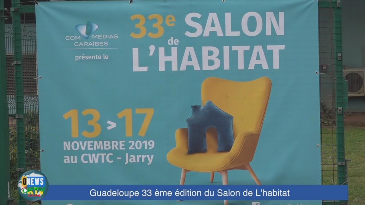 [Vidéo] Onews Guadeloupe. Le Salon de l Habitat 2019