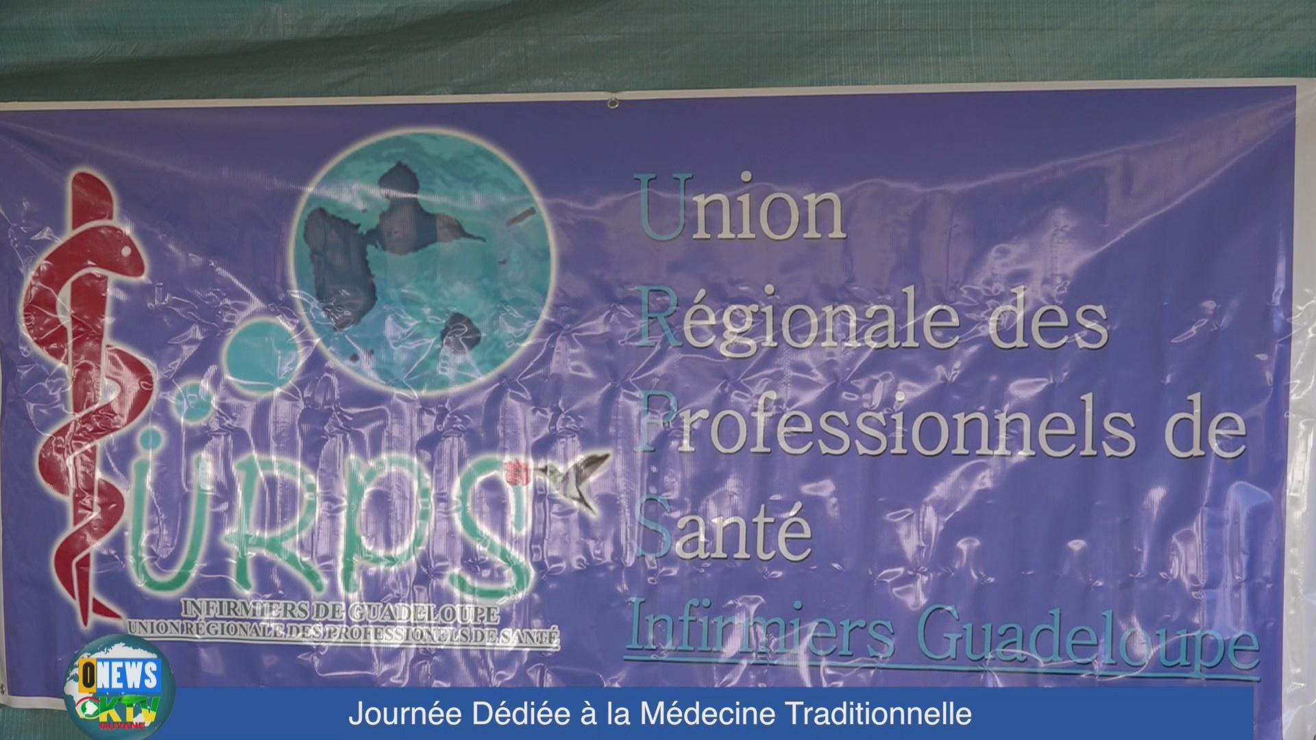 [Vidéo] ONEWS Guadeloupe. Journée dédiée à la médecine traditionnelle