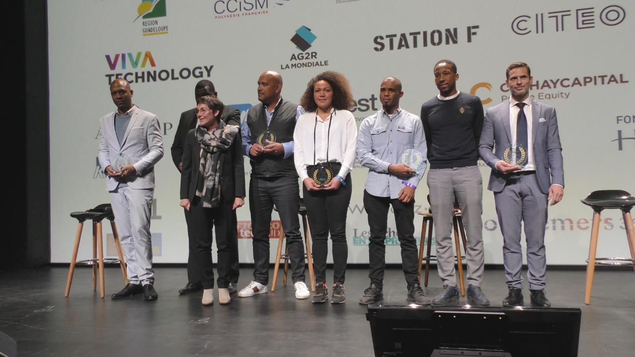 [Vidéo] Onews. Cérémonie de remise Prix innovation à la Station F de Outre mer Network