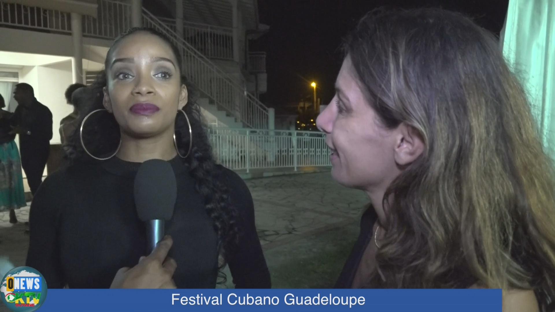 [Vidéo] ONEWS Guadeloupe. Le premier Festival Cubano (Reportage intégral)