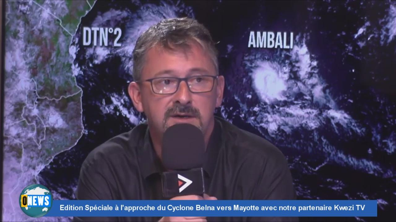 [Vidéo] Edition Spéciale à l'approche du Cyclone Belna vers Mayotte avec notre partenaire Kwezi TV