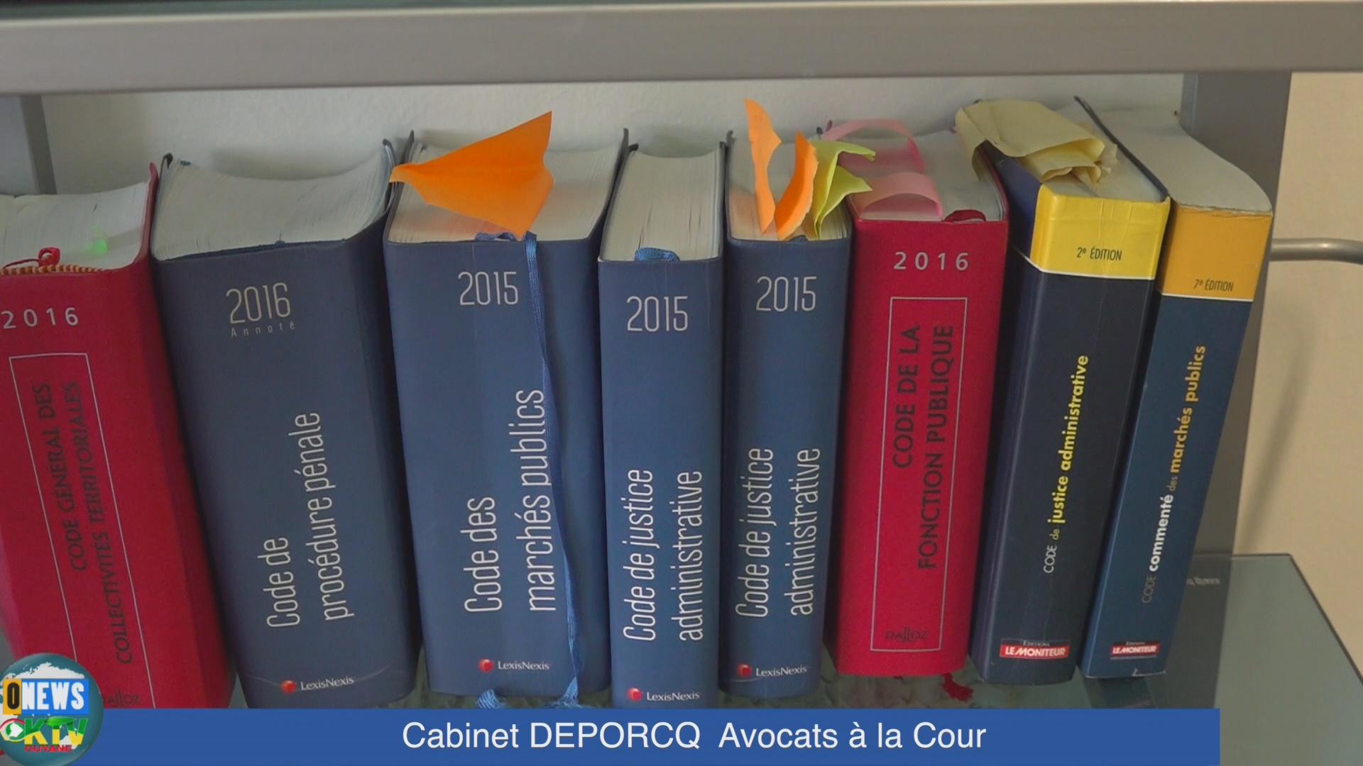 [Vidéo] ONEWS Guadeloupe. Conseils Juridiques.