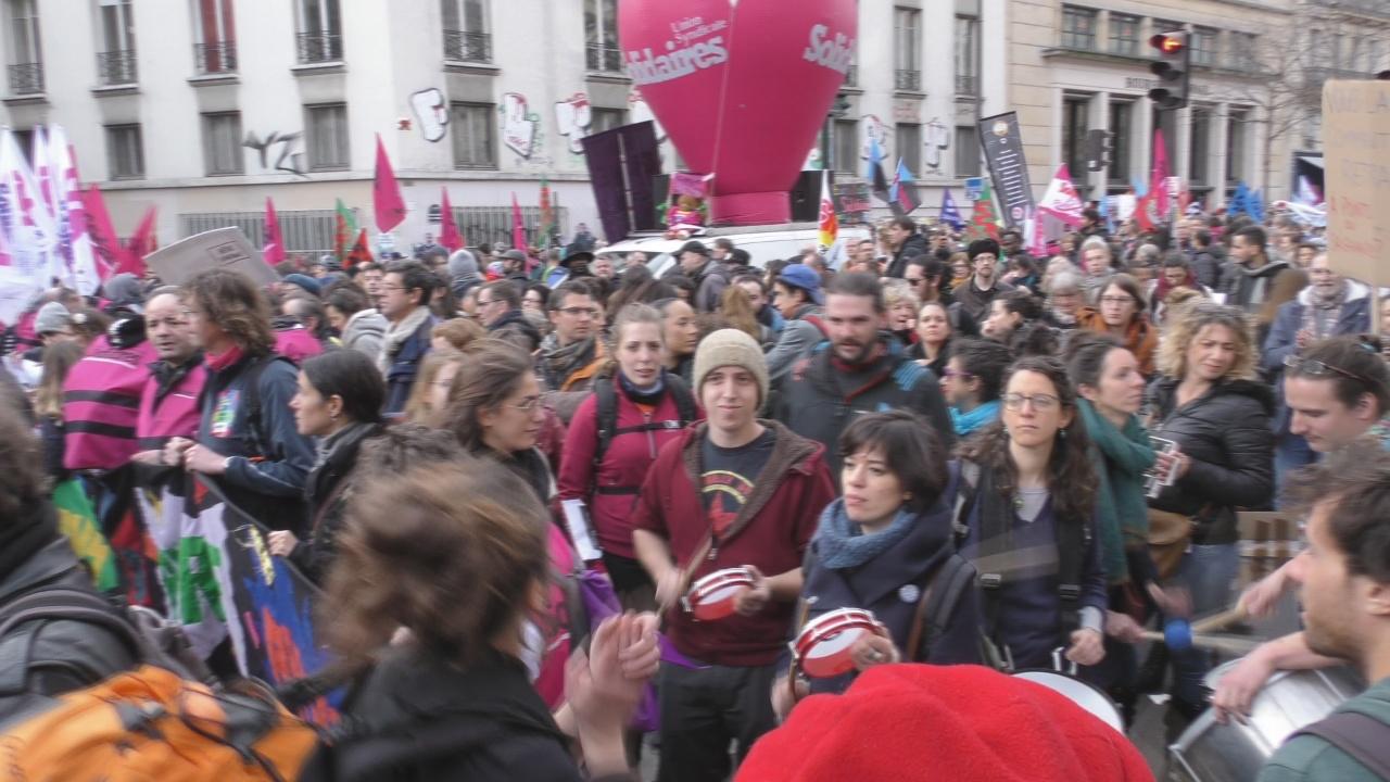 [Vidéo] ONEWS Paris.Journée de mobilisation contre la Réforme des Retraites
