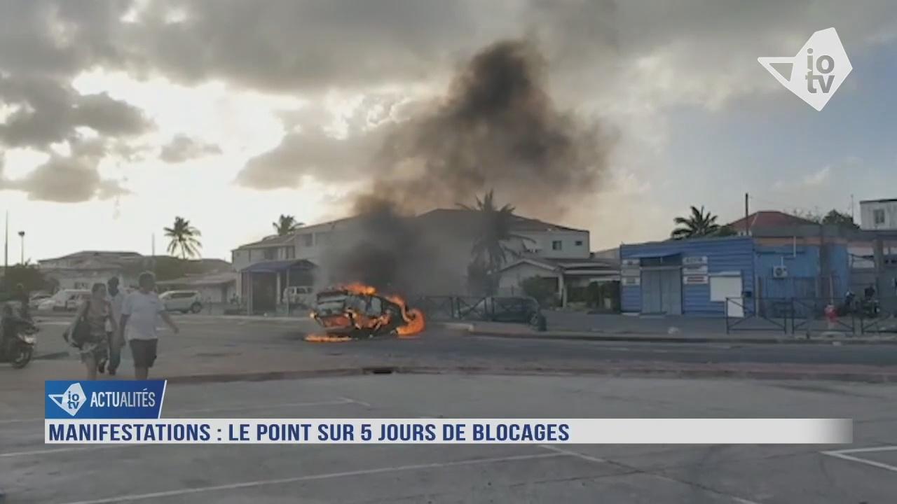 [Vidéo] Situation tendue à Saint Martin.