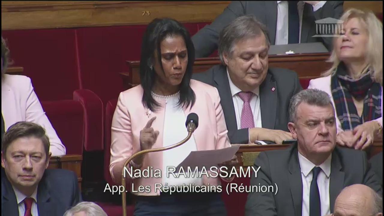 [Vidéo] ONEWS. Intervention virulente de la Députée de Réunion Nadia RAMASSAMY sur la réforme des retraites