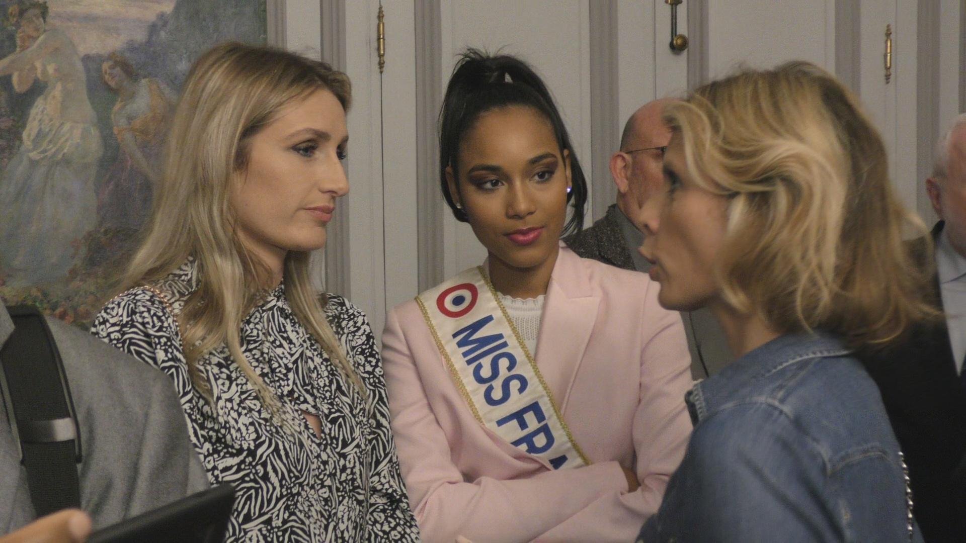 [Vidéo] Onews. Miss France 2020 Clémence BOTINO aux voeux de la Ministre des Outre mer