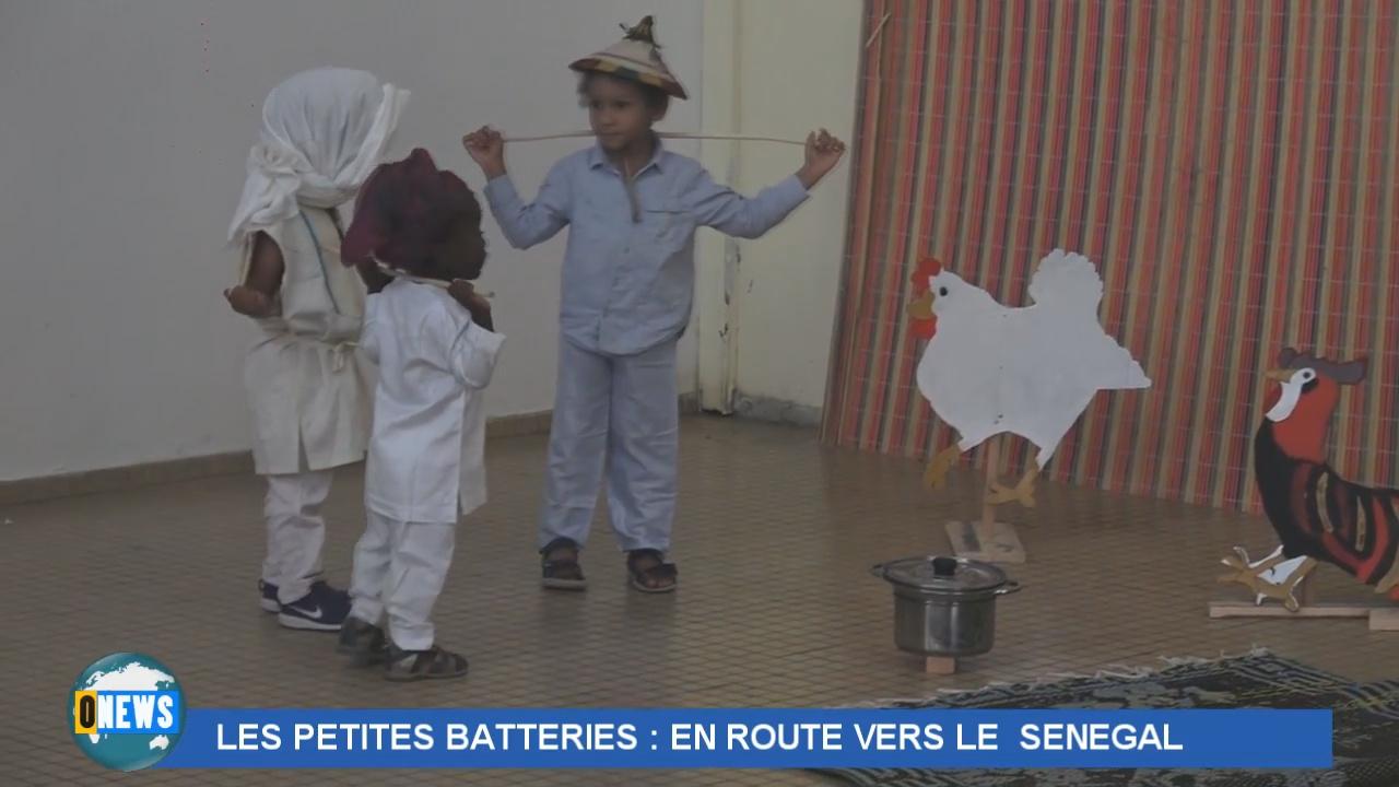 [Vidéo] GUADELOUPE. Les petites batteries en route pour le Sénégal.