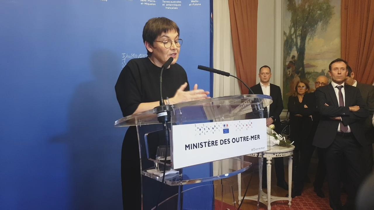 [Vidéo] ONEWS PARIS. Les Voeux de la Ministre des Outre mer Annick GIRARDIN