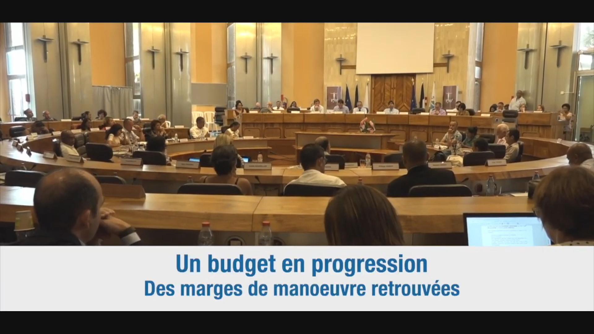 [ Vidéo] Onews Réunion Le budget primitif du département adopté