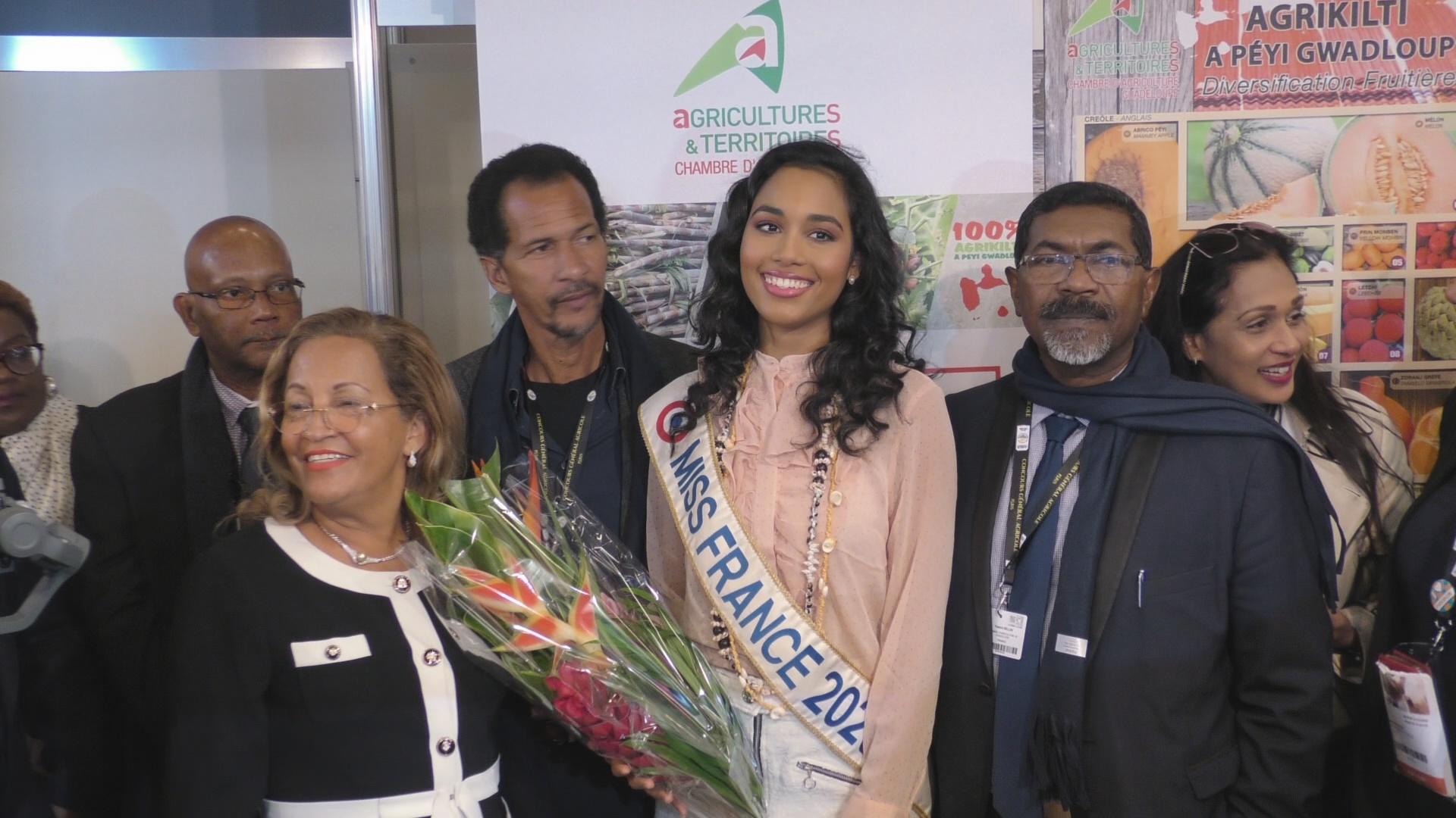[Vidéo] Onews.Miss france 2020 sur le Stand Guadeloupe au Salon de l Agriculture