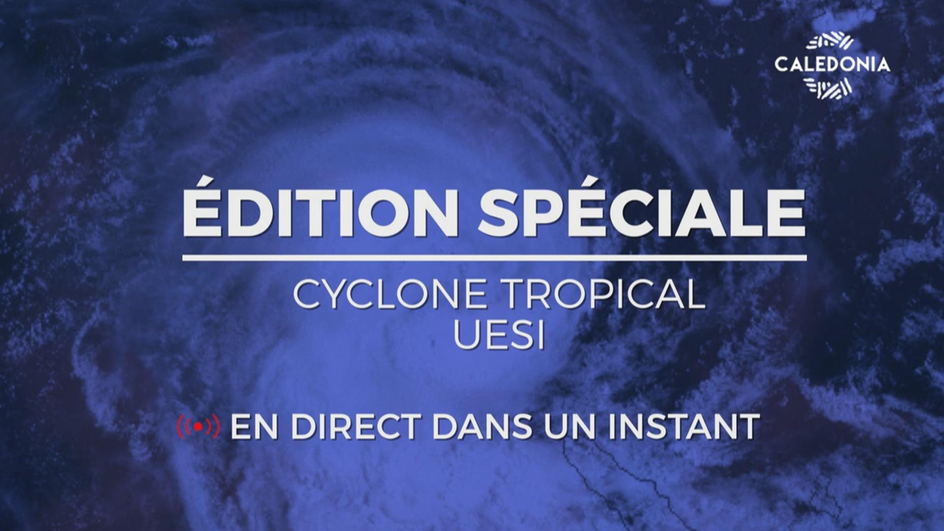 [Vidéo] Onews. Nouvelle Calédonie Flash Spécial Cyclone UESI