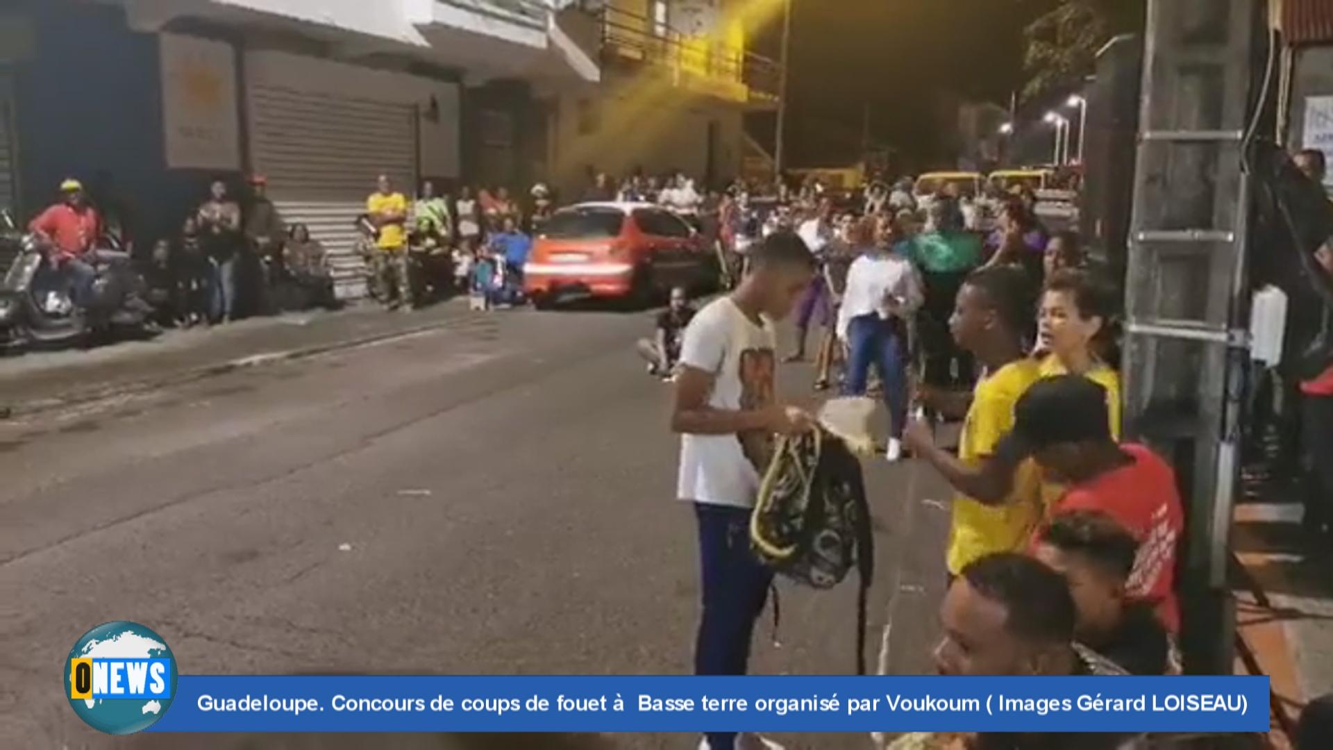 [Vidéo] Onews Guadeloupe Concours de coups de fouet à Basse terre organisé par Voukoum (Images Gérard LOISEAU)