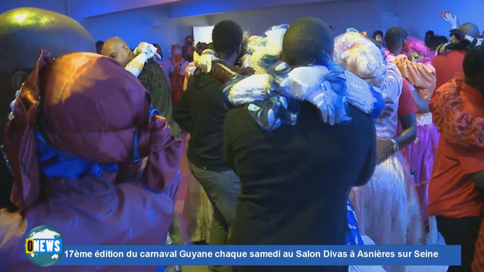 [Vidéo] Onews. 7ème édition du carnaval Guyane chaque samedi au Salon Divas à Asnières sur Seine