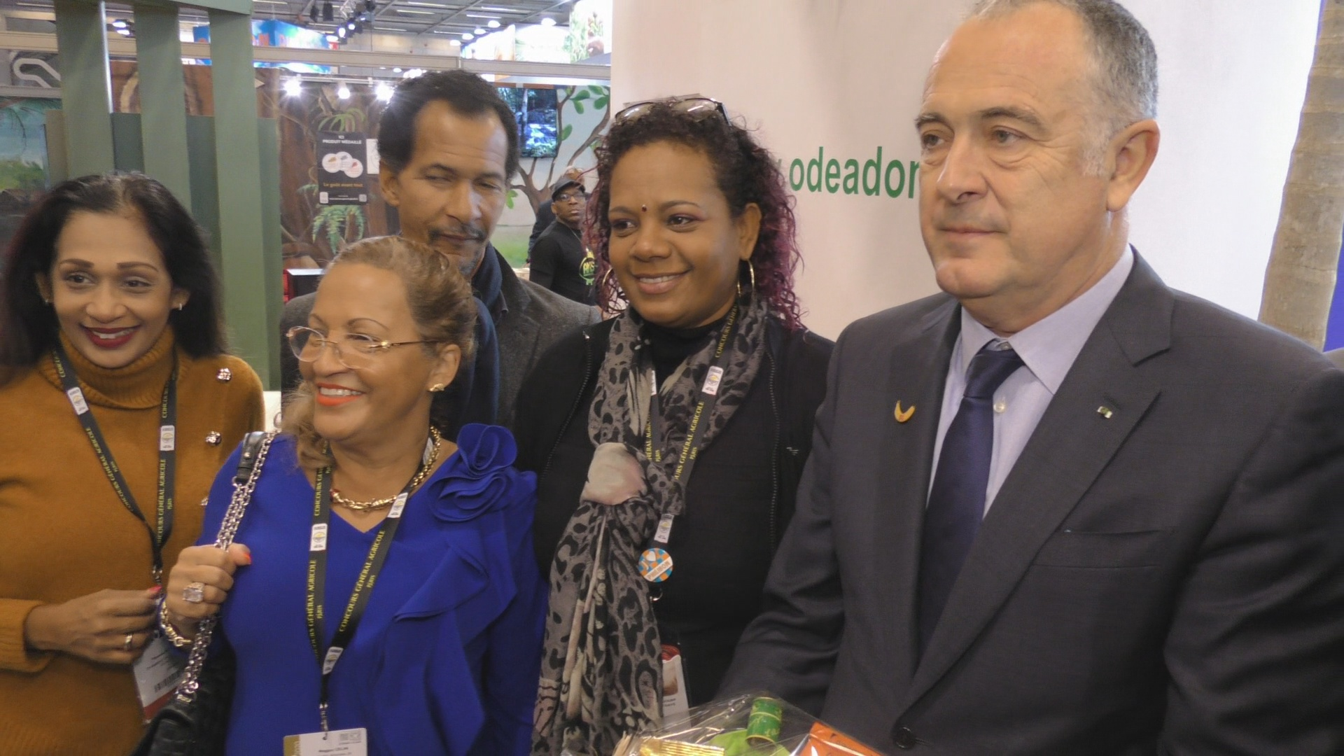 [Vidéo] Onews Spécial salon Agriculture interviews sur le stand Guadeloupe