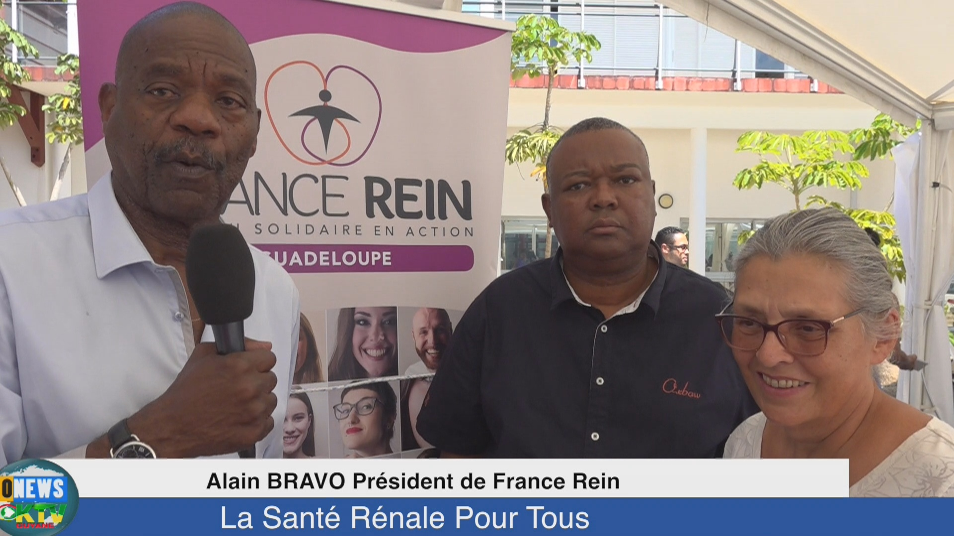 [Vidéo]. Onews Guadeloupe. La Santé Rénale pour tous.