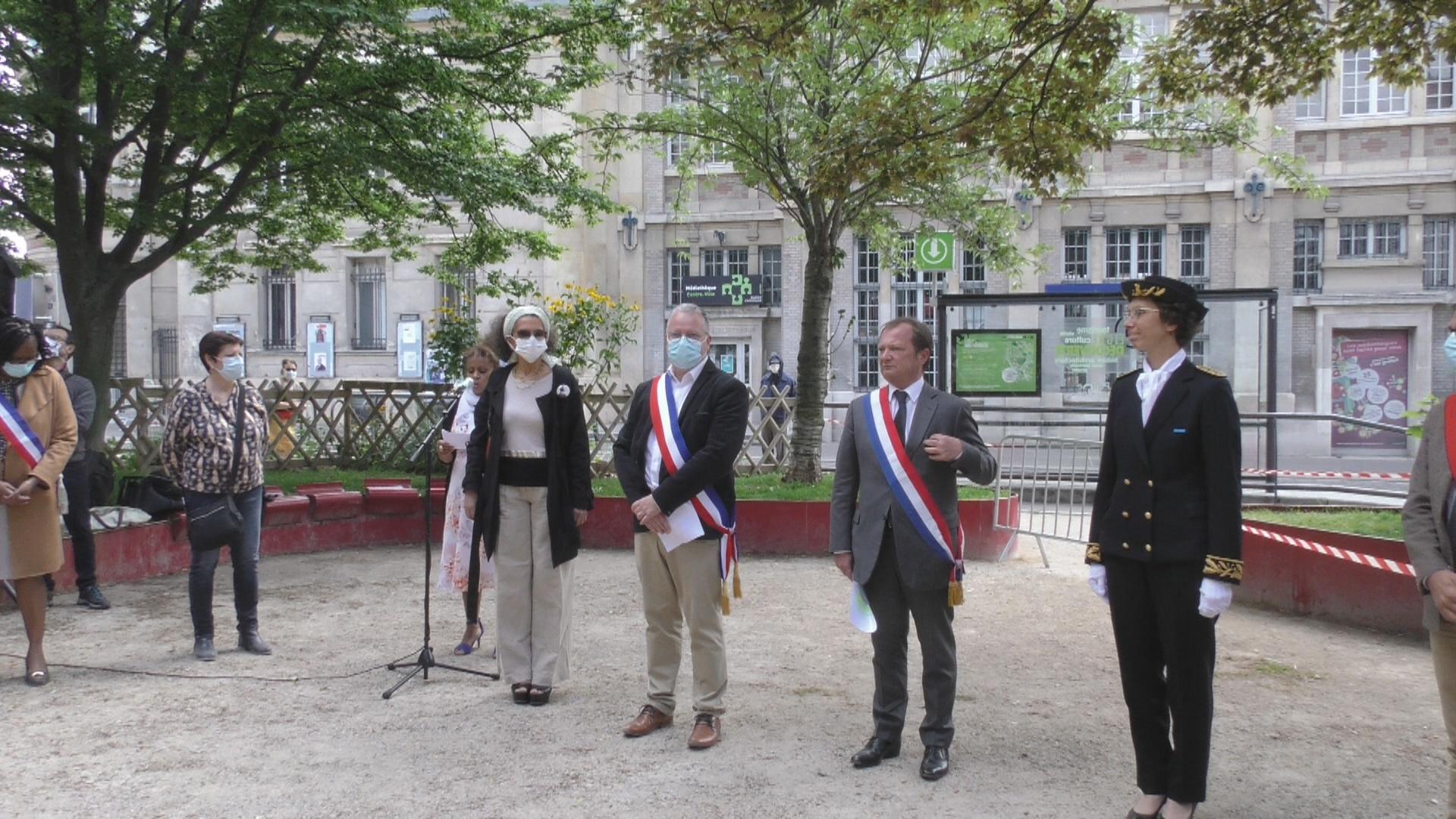 [Vidéo] Onews Paris. Cérémonie de la journée d hommage aux victimes de l esclavage 23 mai 2020 Saint denis