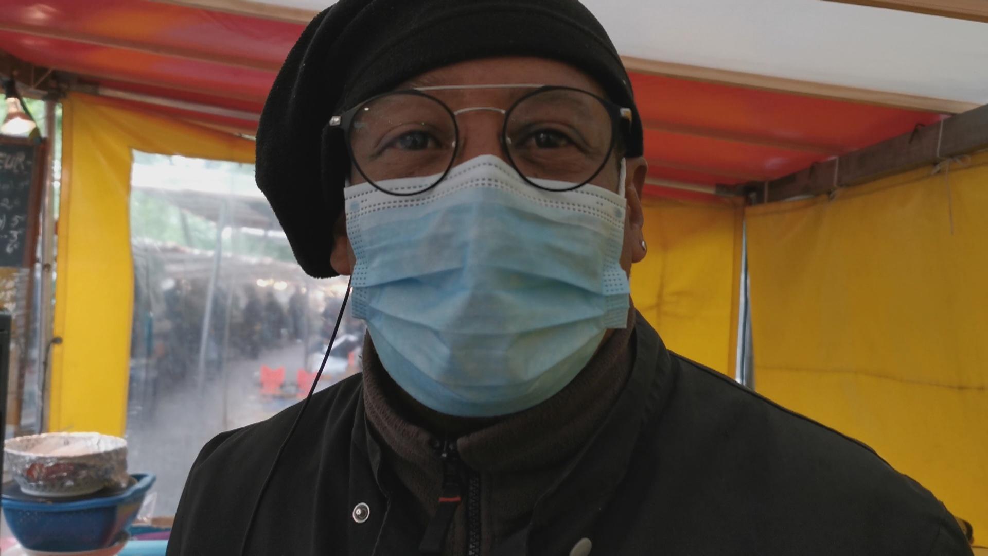 [Vidéo] Soutien à Éric Traiteur rencontré sur le marché de Daumesnil après 2 mois de confinement.