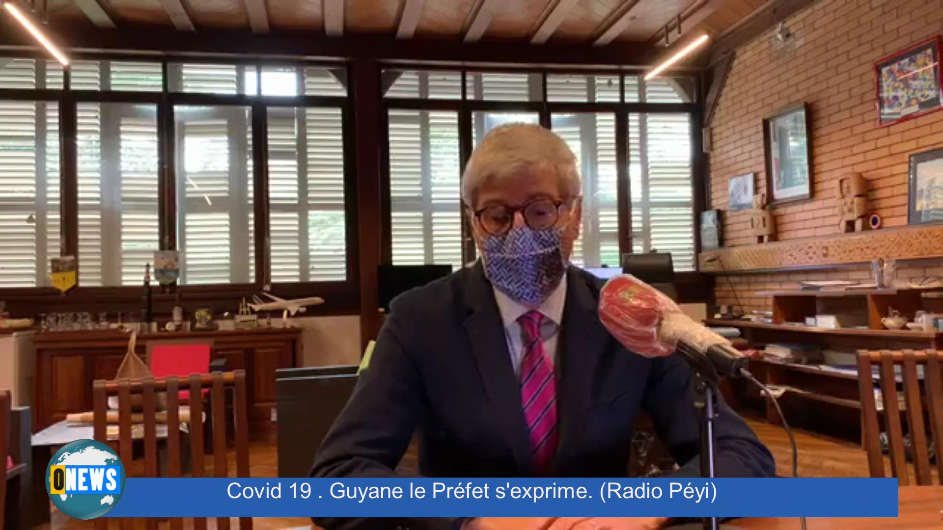 [Vidéo] Covid 19 Guyane le Préfet s'exprime (Radio Péyi)