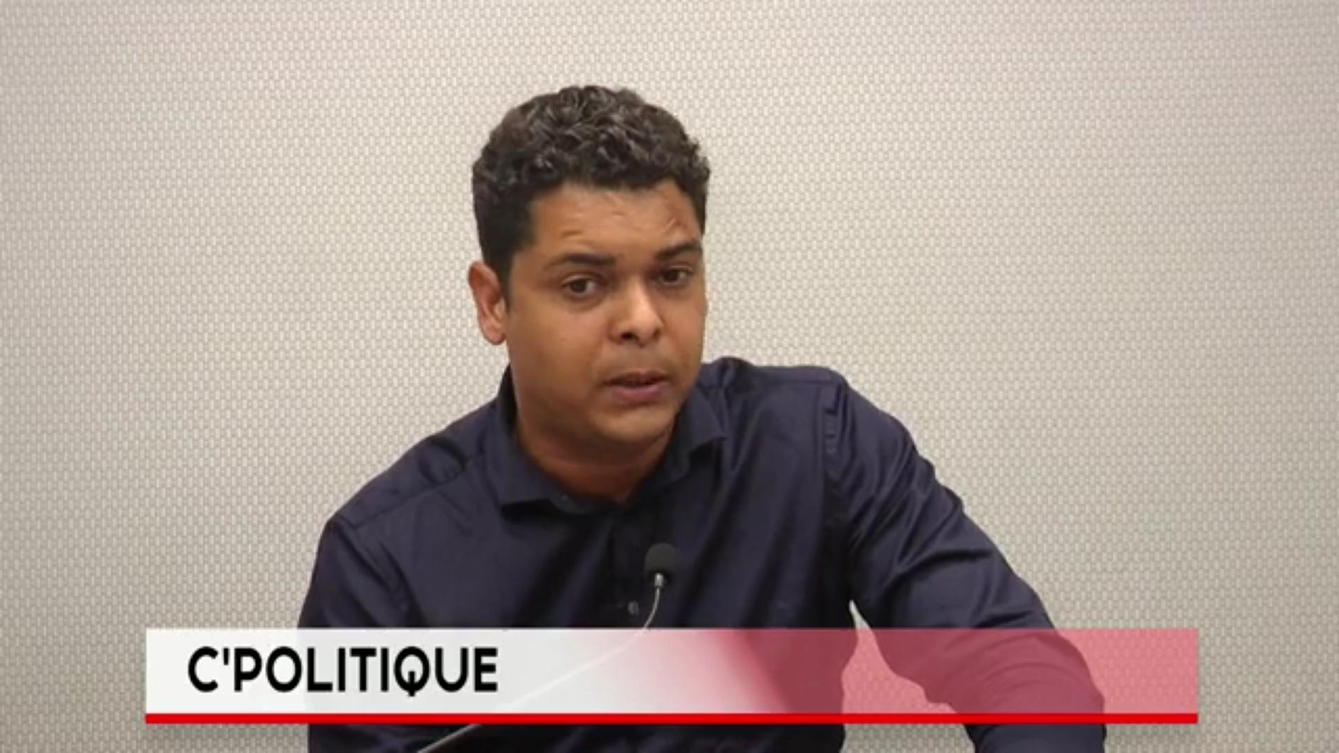 Onews Guadeloupe. Cédric CORNET Maire du Gosier invité de Yvelise BOISSET